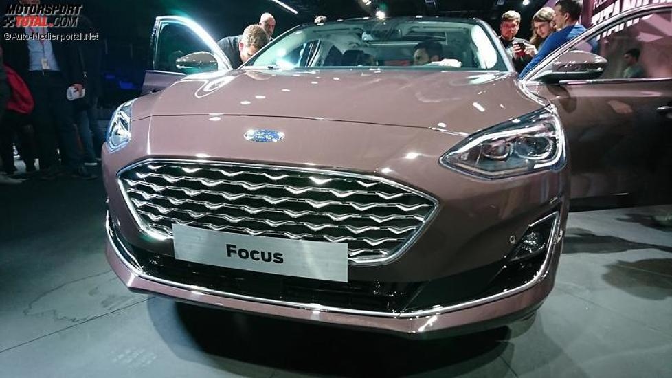 Weltpremiere des Ford Focus Vignale 2018 in London