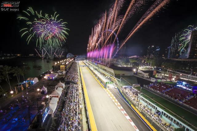 Formel 1 Singapur Uhrzeit Start