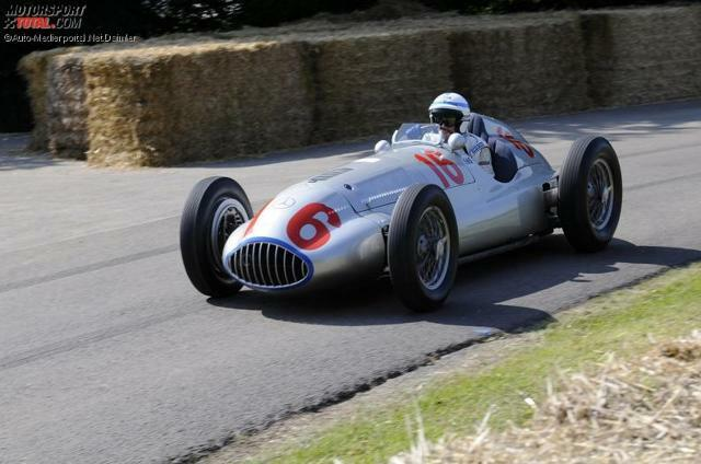Mercedes-Benz beim Goodwood Festival of Speed