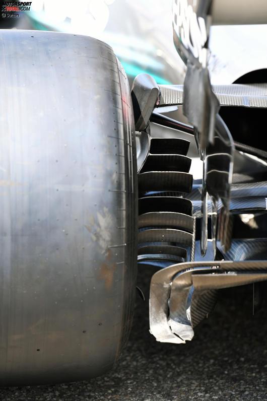 Hinterradaufhängung Mercedes