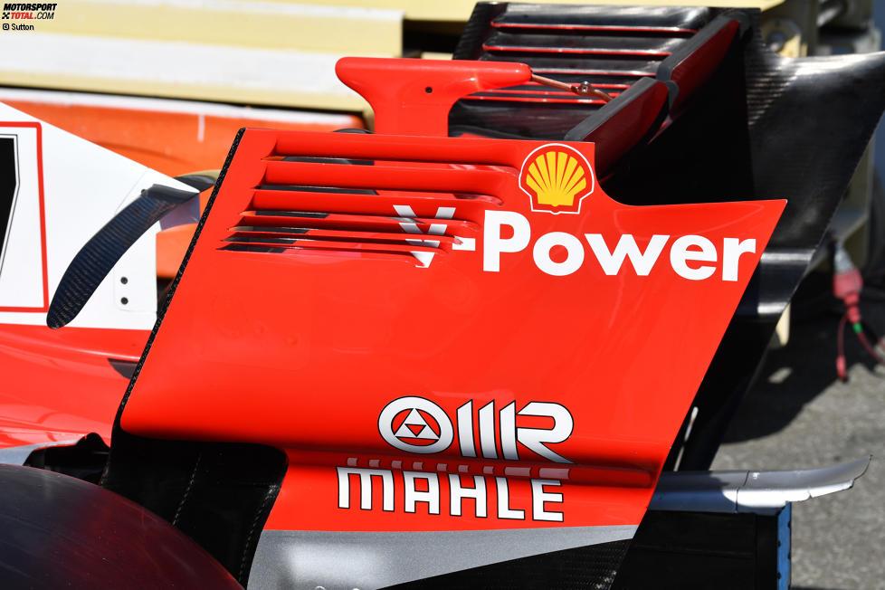 Ferrari Heckflügel