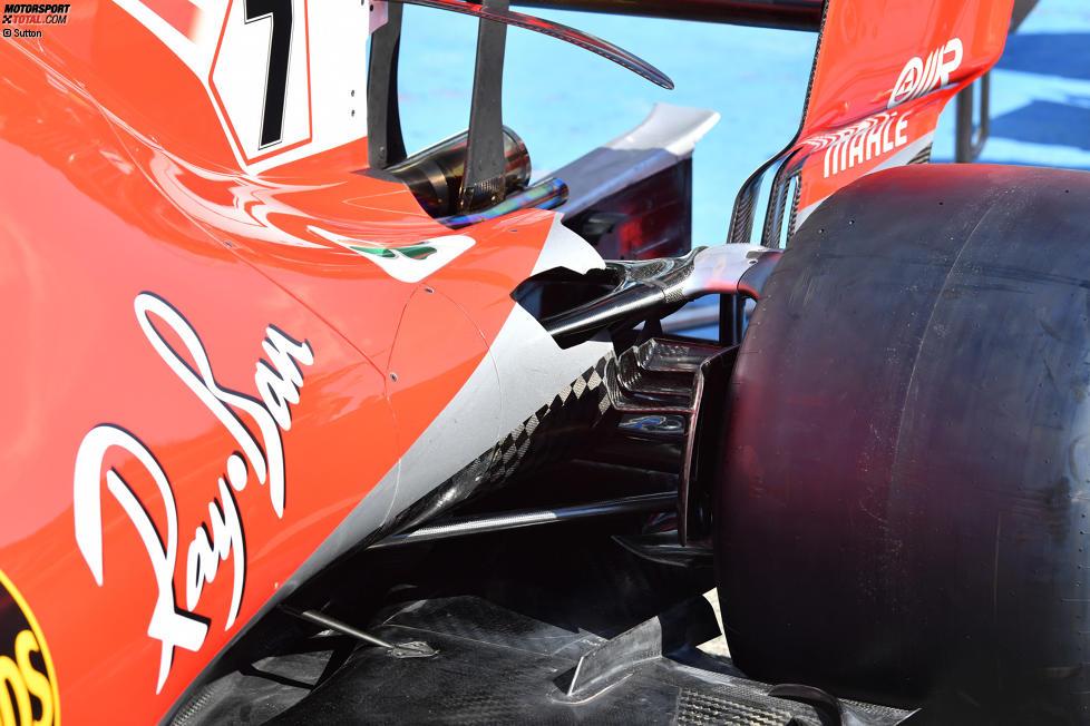 Hinterradaufhängung Ferrari