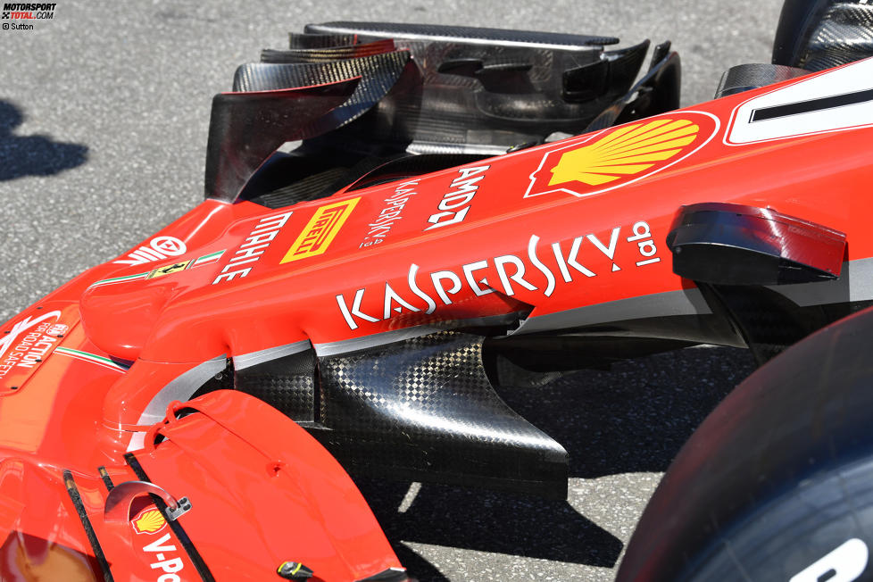 S-Duct beim Ferrari