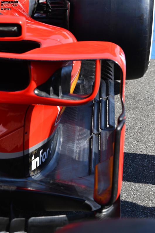 Bargeboard des Ferrari