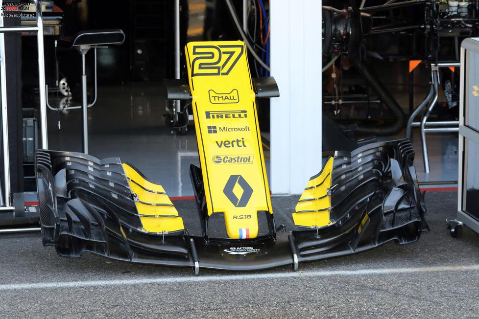 Frontflügel Renault