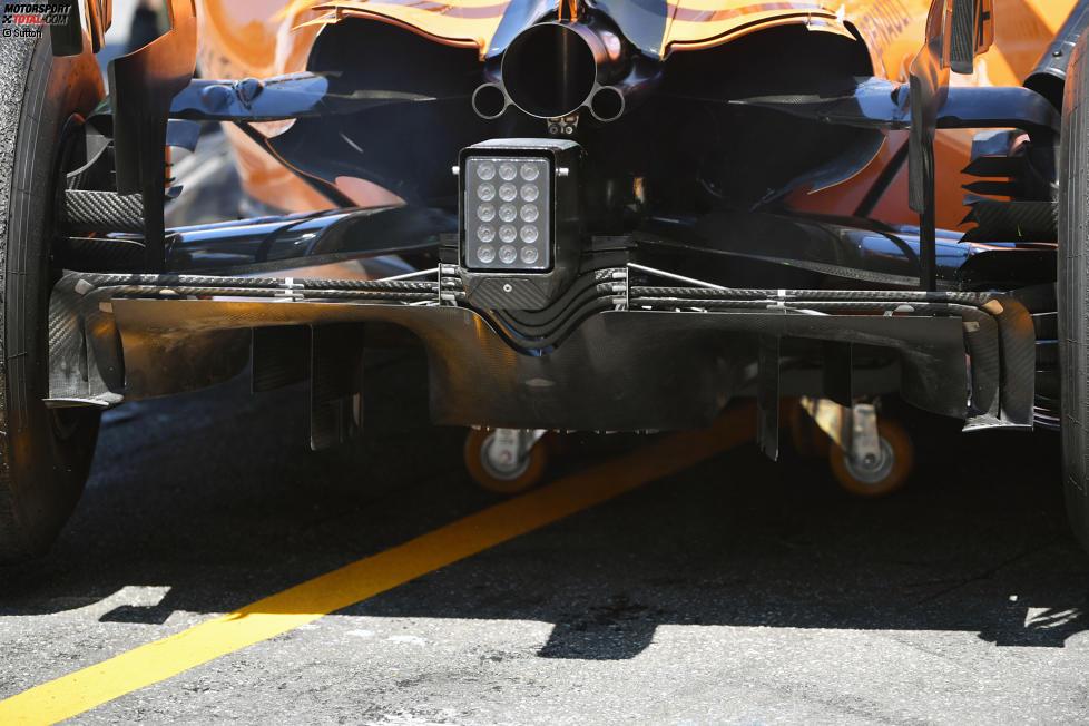 Diffussor des McLaren