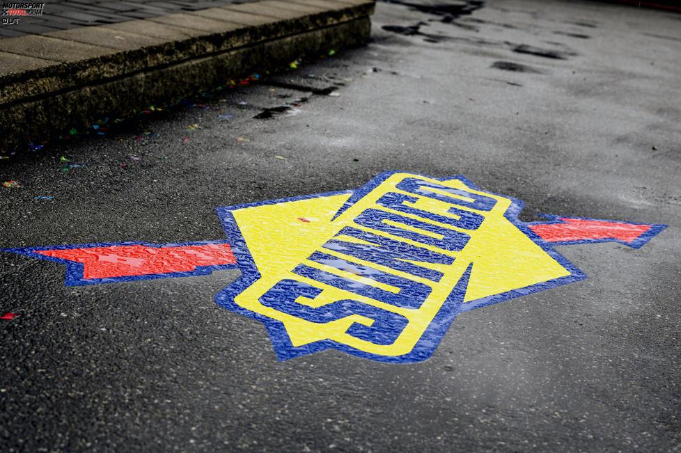 Logo im Regen: Sunoco