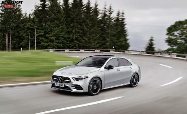 Vorstellung Mercedes A Klasse Limousine 2018 Schicke Stufe