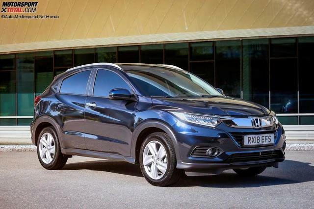 Honda Hr V 2019 Facelift Neuer Vtec Turbomotor Bestellbar