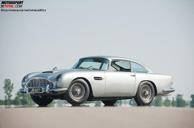 Aston Martin baut James Bonds Auto aus
