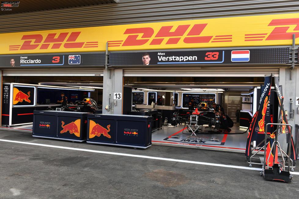 Box von Red Bull