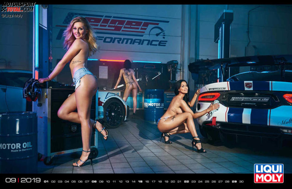 Liqui Moly Girls Kalender 2019 - September