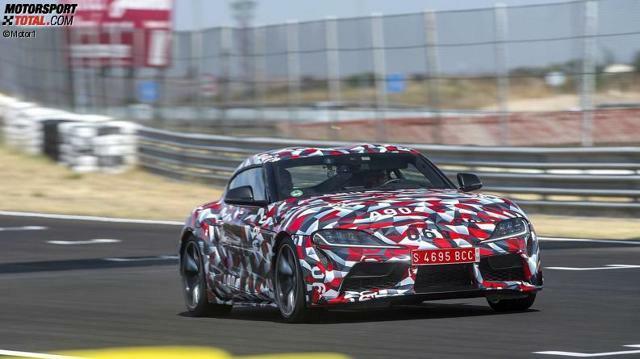Toyota Supra 2019 Erlkonig Im Test Dieses Auto Tritt In Grosse