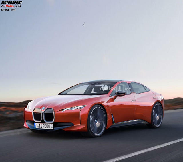 Bmw I4 Der Neue Tesla Rivale Startet 2021