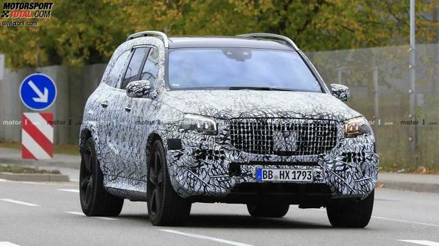 Mercedes-Maybach GLS 2019 Erlkönig
