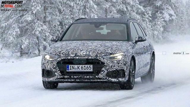 Audi A4 Avant 2019 Erster Erlkonig Versteckt Gravierende Design