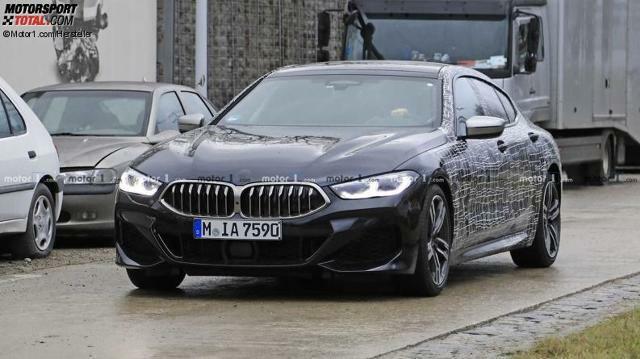 Bmw M850i Gran Coupe 2019 Erlkonig Verliert Tarnung