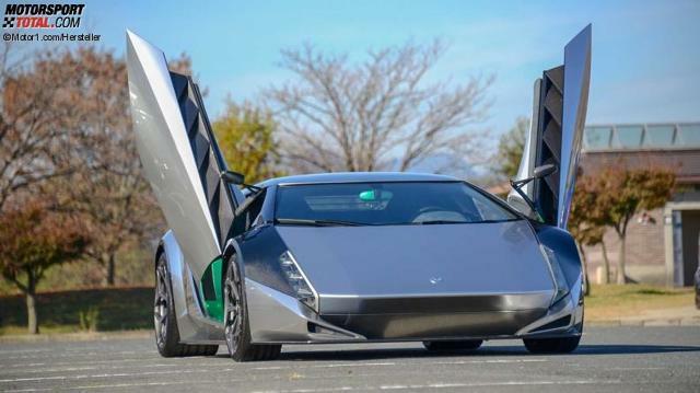 Kode 0 Supersportler Auf Lamborghini Basis Zu Verkaufen