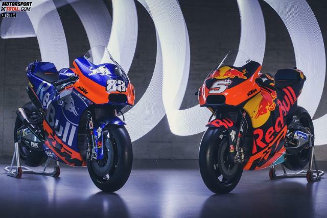 So sehen die Tech-3- und KTM-Bikes in der MotoGP-Saison 2019 aus. Jetzt durch die Detailaufnahmen klicken!