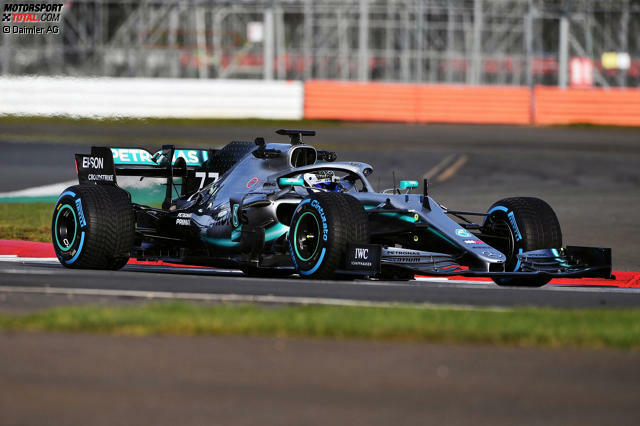 Neue Kühlung: Die Antriebseinheit wirkt sich positiv auf die Aerodynamik aus. Jetzt durch die Bilder des neuen Mercedes klicken!
