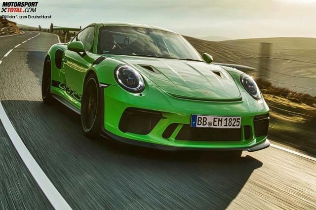 Porsche 911 Gt3 Rs 2020 Nächster Hardcore Elfer Bekommt Mehr Power