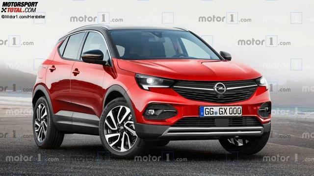Opel Mokka X 2020 Rendering Was Wir Uber Die Neuauflage Wissen