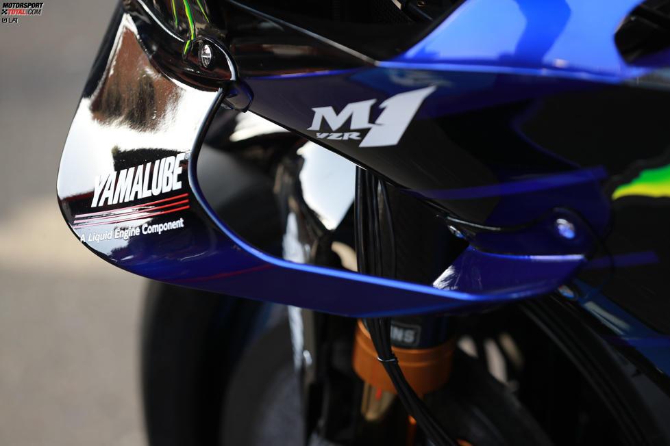 Winglets bei Yamaha