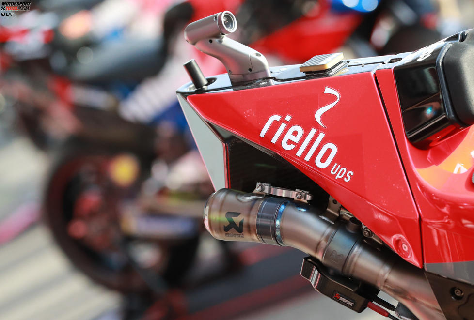 Auspuff der Ducati