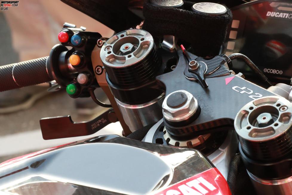 Einstellung für den Start bei Ducati (