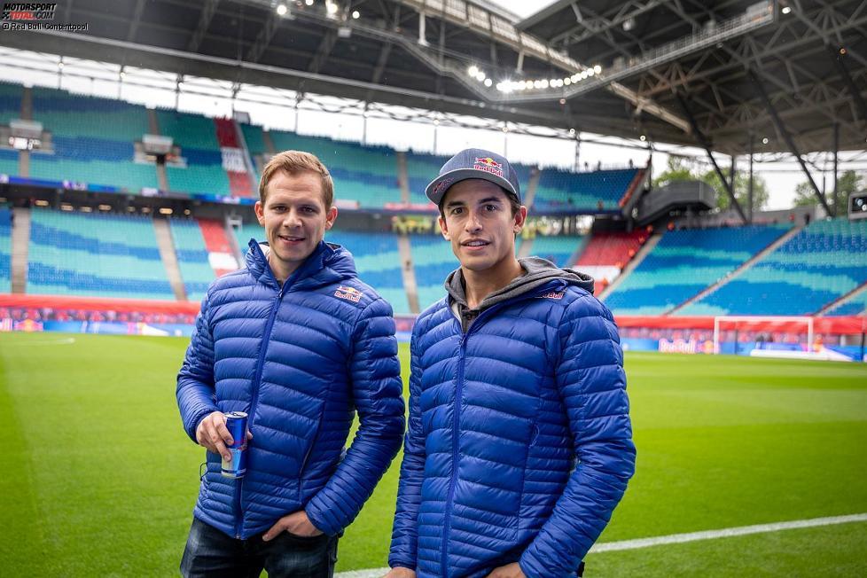 Marc Marquez und Stefan Bradl