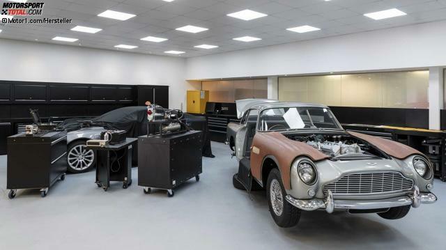 Aston Martin Goldfinger Db5 Neuauflage Des Bond Autos Zum Stolzen Preis