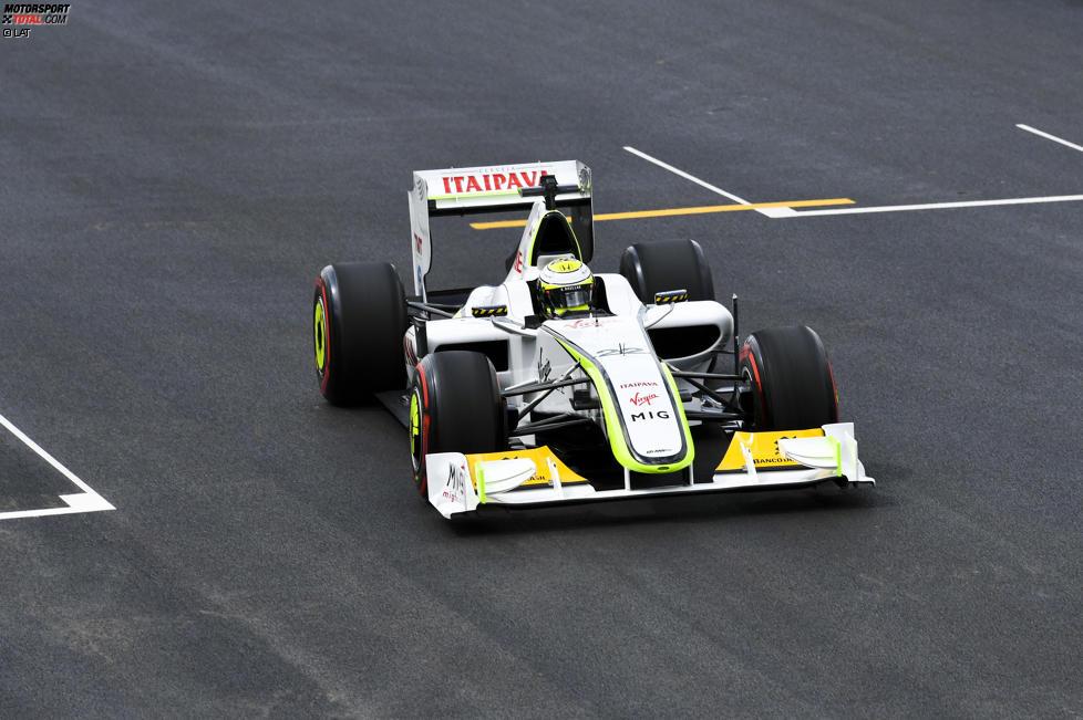 Jenson Button im Brawn von 2009