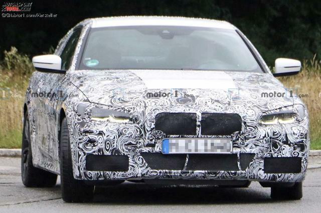BMW 4er Coupe (2020) Erlkönig zeigt sich in München