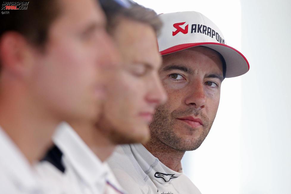 Daniel Juncadella (R-Motorsport Aston Martin) und Marco Wittmann (RMG-BMW)