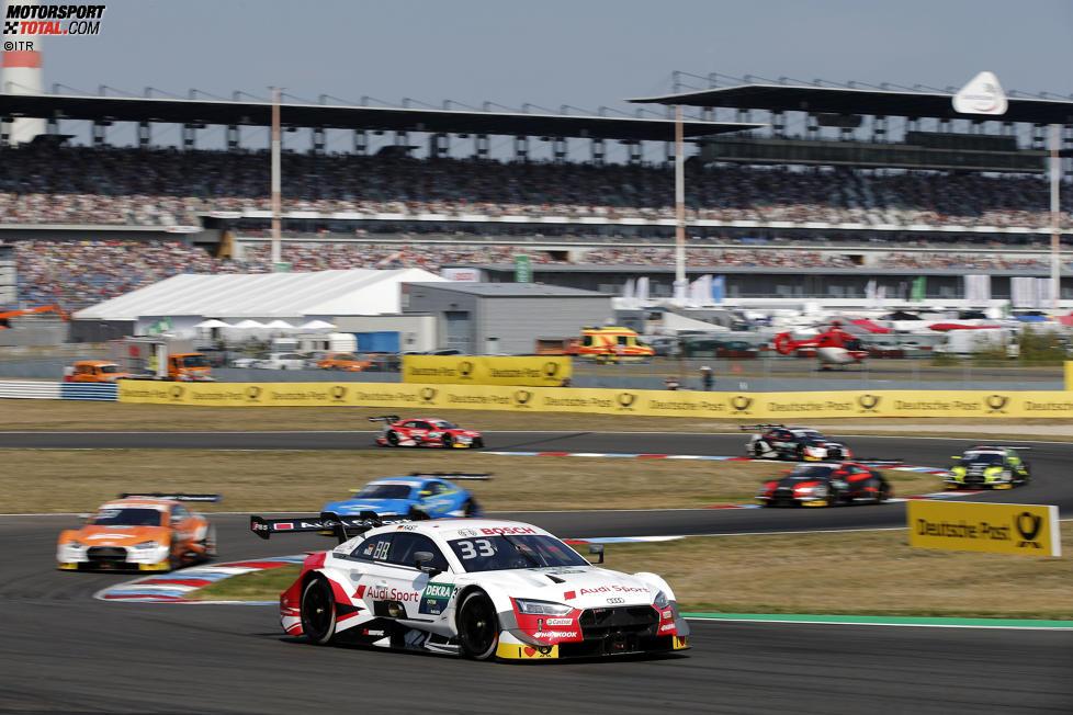 Jamie Green (Rosberg-Audi) und Robin Frijns (Abt-Audi)