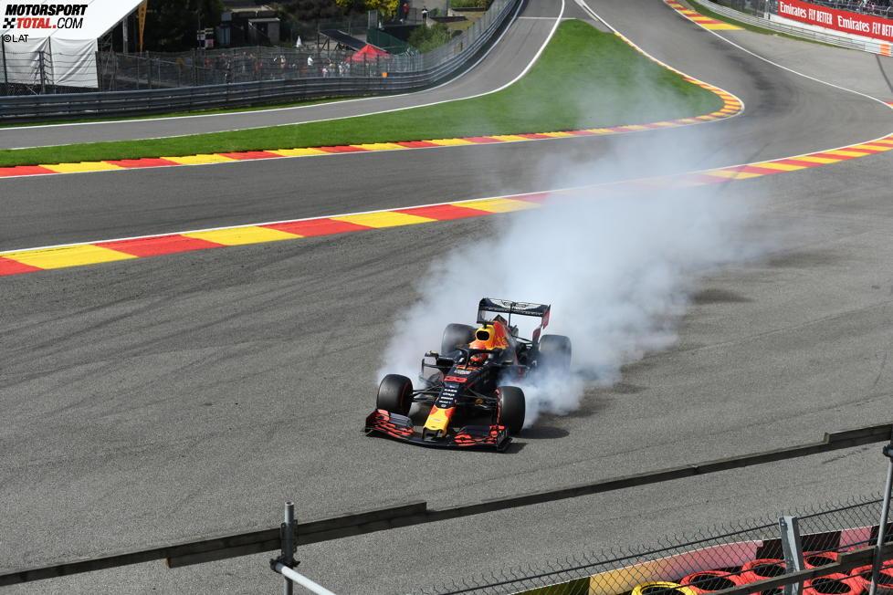Max Verstappen (Red Bull) und Kimi Räikkönen (Alfa Romeo)