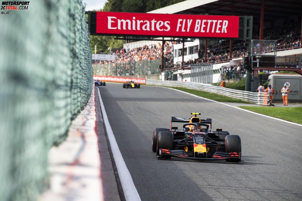 Alexander Albon (Red Bull) und Nico Hülkenberg (Renault)
