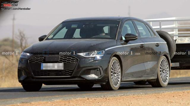 Audi A3 (2020) fast ungetarnt