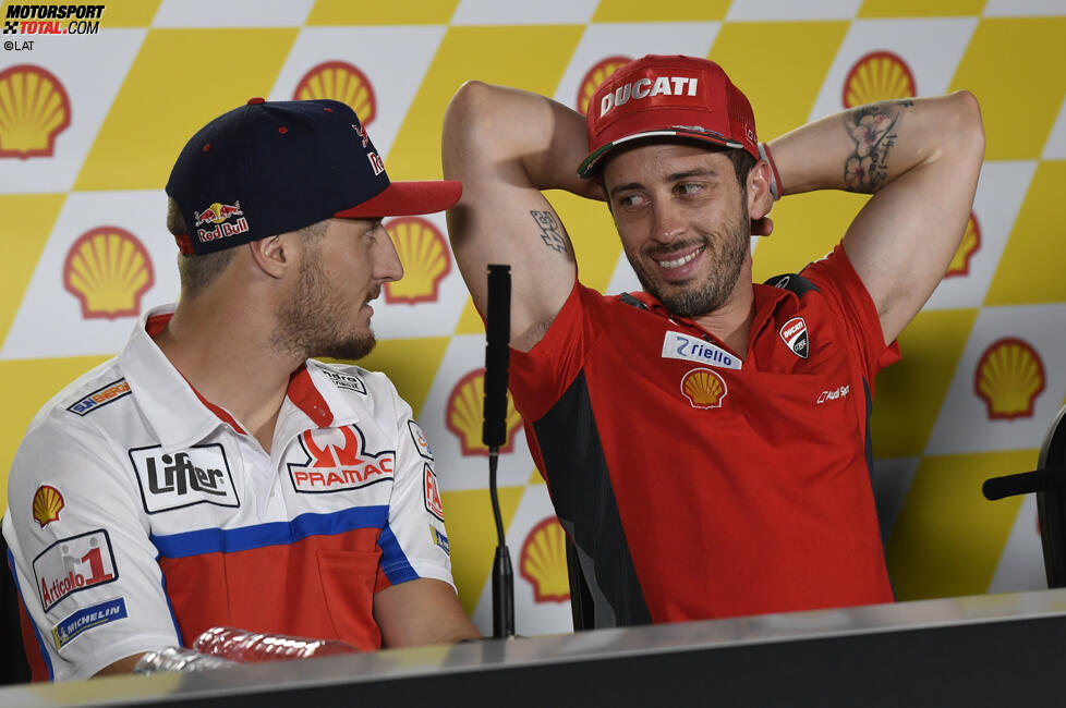 Jack Miller (Pramac) und Andrea Dovizioso (Ducati)