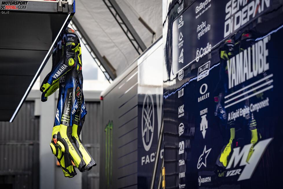 Lederkombi von Valentino Rossi