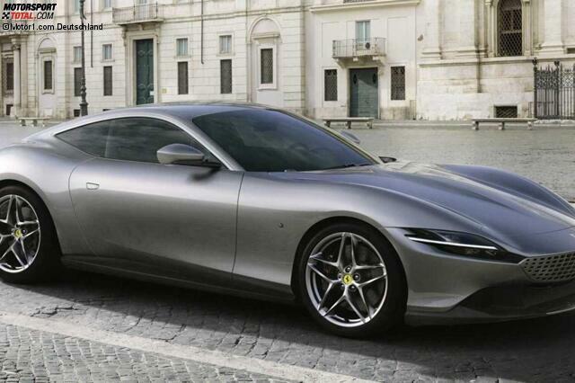 Ferrari Roma 2020 Neues V8 Coupé Mit 620 Ps V8