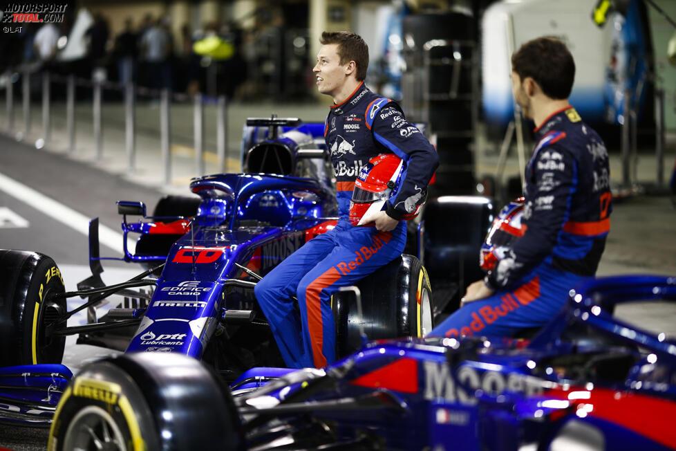 Daniil Kwjat (Toro Rosso) und Pierre Gasly (Toro Rosso)