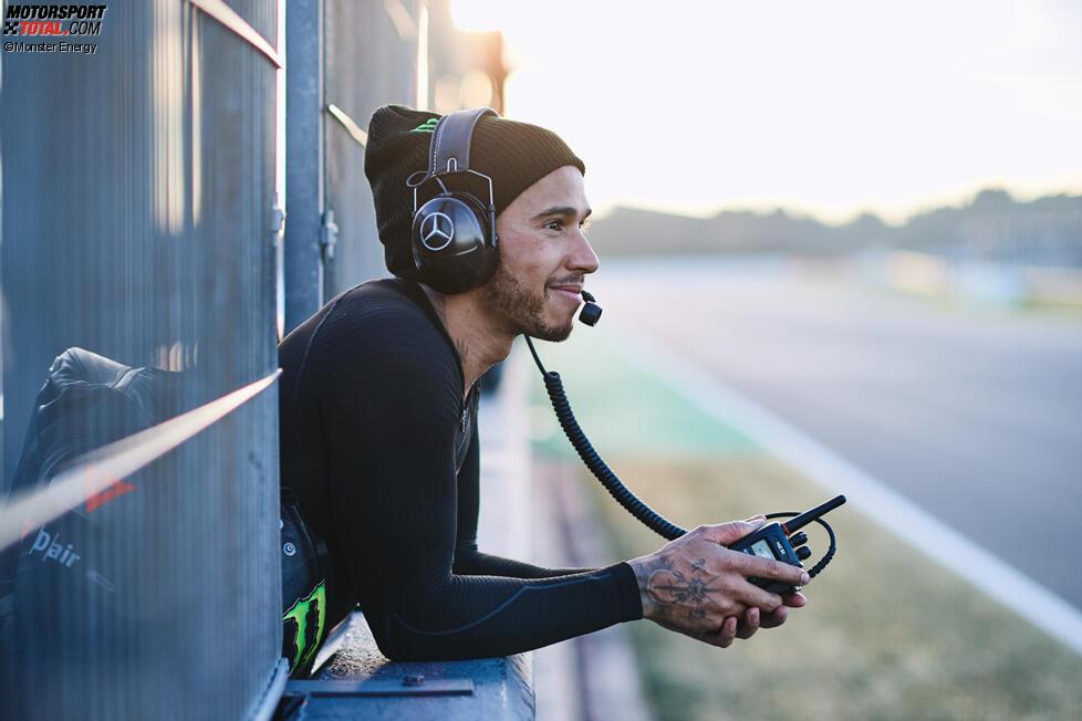 Lewis Hamilton und Lewis Hamilton (Mercedes)