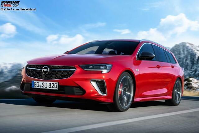 Opel Insignia Gsi Facelift Nun Mit Neuem 230 Ps Turbobenziner