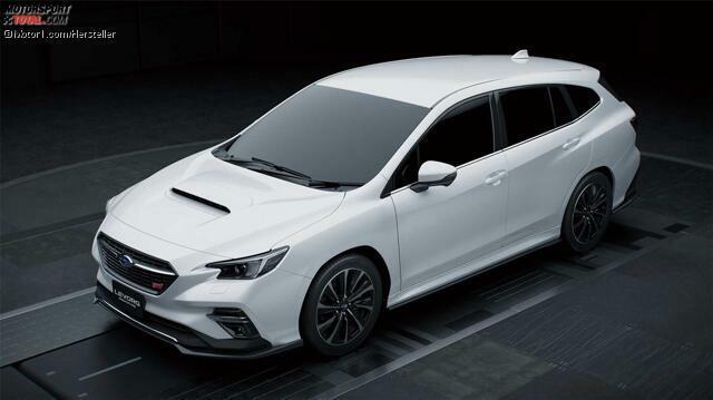 Subaru Levorg Sti Sport Heisser Kombi Debutiert In Tokio
