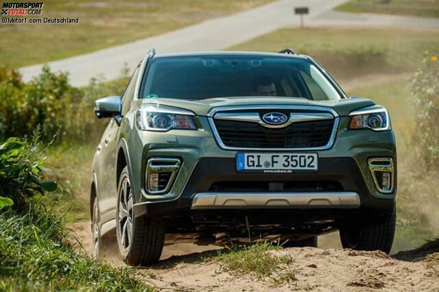 Subaru Forester E Boxer 2020 Neuer Benziner Mit Mildhybridsystem