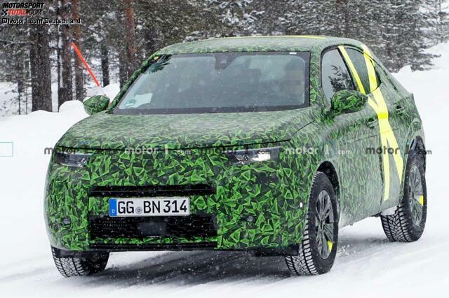 Neuer Opel Mokka X 2020 Als Erlkonig Erwischt