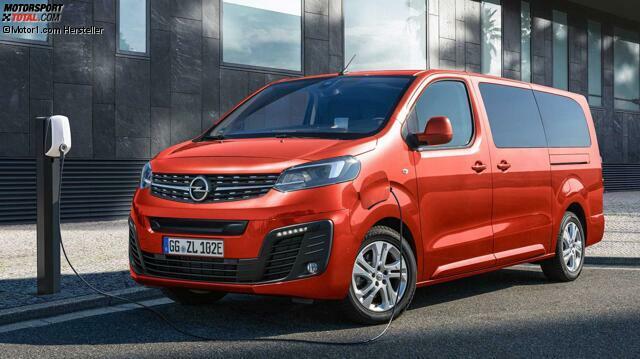 Opel Zafira E Life 2020 Schon Wieder Ein Elektro Transporter Fur Personen