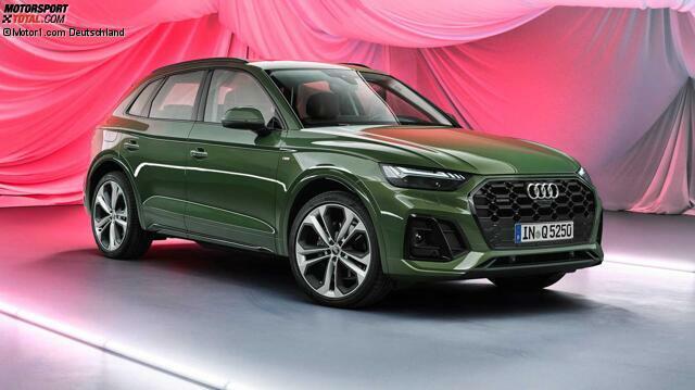 Audi Q5 Facelift 2020 Neue Optik Und Verschiedene Ruckleuchten