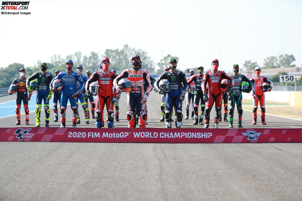 Die MotoGP Fahrer 2020